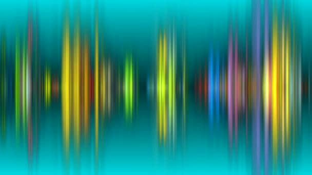 dance of color patterns on the screen