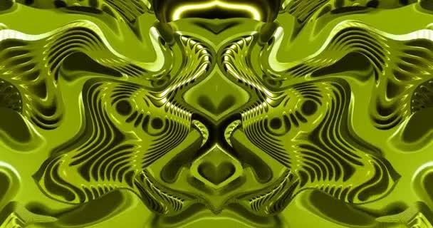 Abstraktní vzory mění jejich tvar na obrazovce