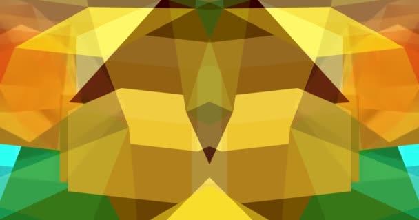Barevná geometrie vytváří pohyb na obrazovce