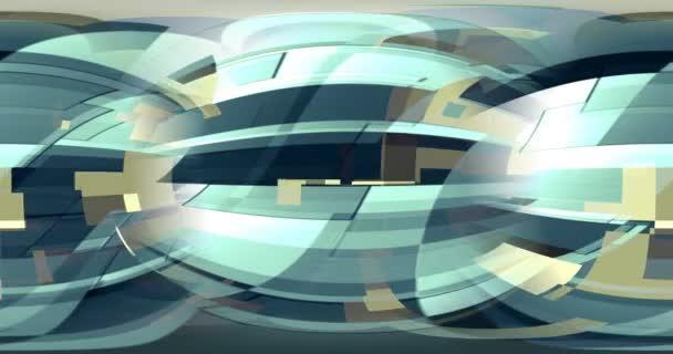 A színgeometriai minták mozgást hoznak létre a képernyőn