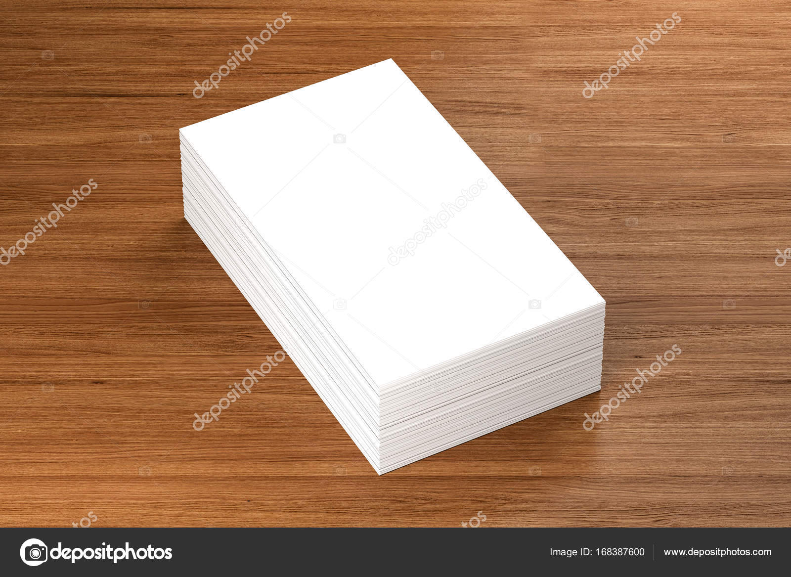 Business cards blank mockup template 3d illustration stock business cards blank mockup template 3d illustration photo by daliborzivotic flashek Images
