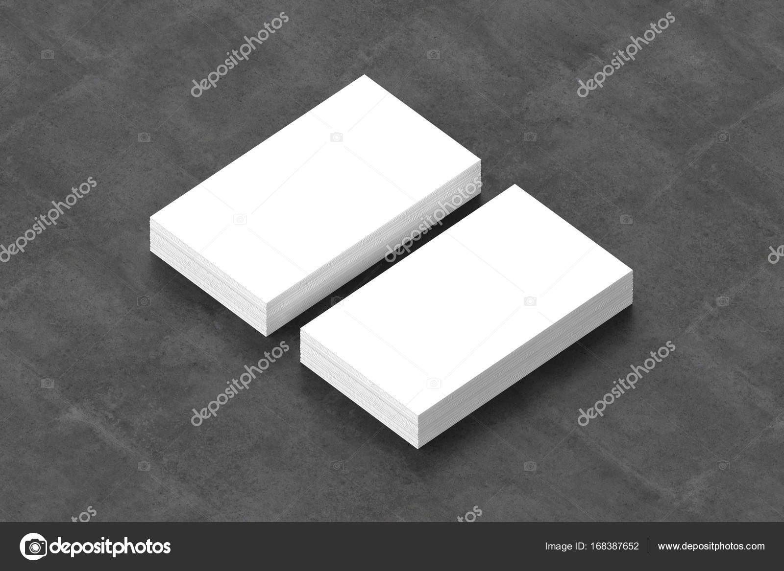 Business cards blank mockup template 3d illustration stock business cards blank mockup template 3d illustration photo by daliborzivotic flashek Gallery