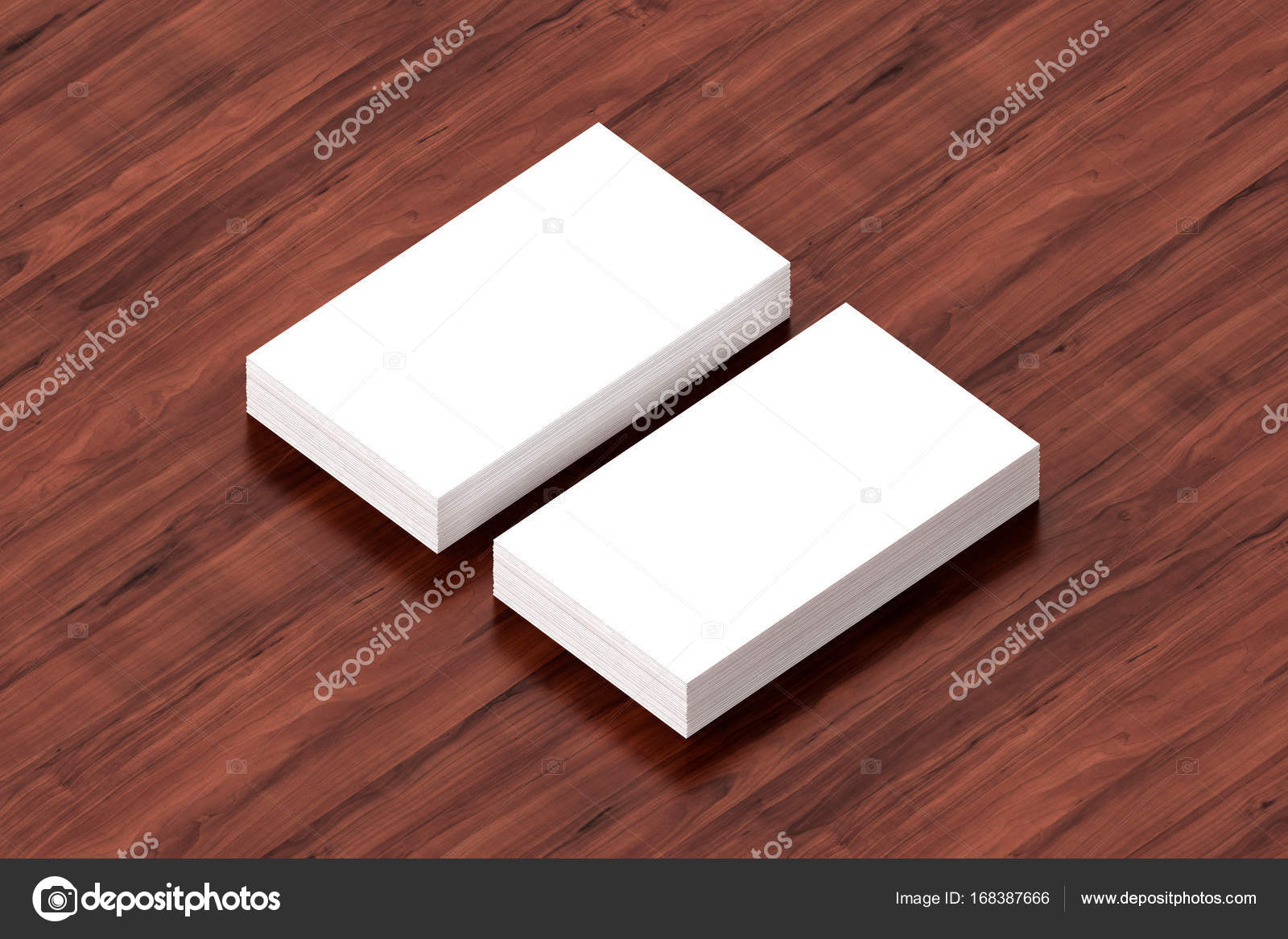 Business cards blank mockup template 3d illustration stock business cards blank mockup template 3d illustration photo by daliborzivotic cheaphphosting Gallery