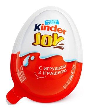 Kinder Joy (Kinder Merendero) isolated on white
