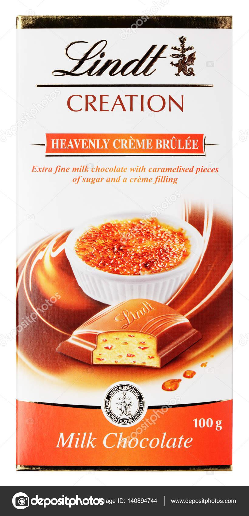 lindt choklad creme brulee