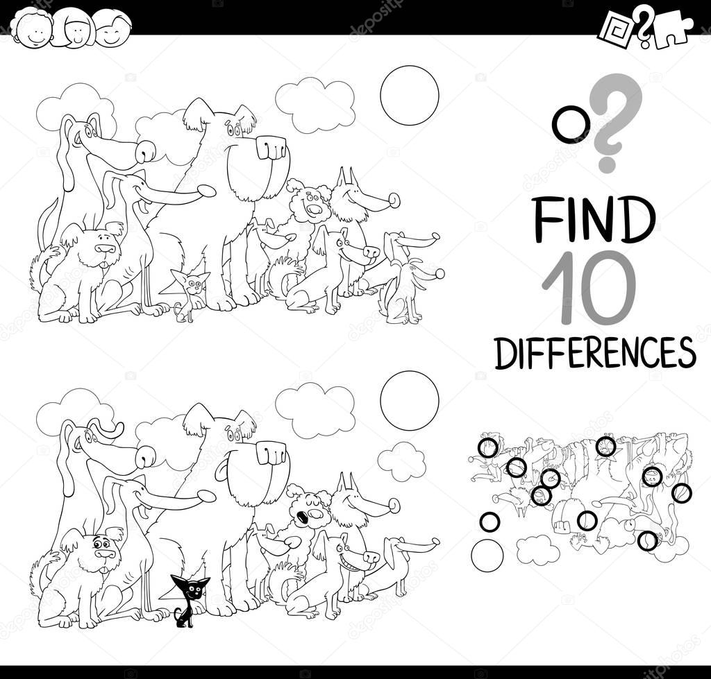 Fark Oyun Boyama Sayfası Stok Vektör Izakowski 130488252