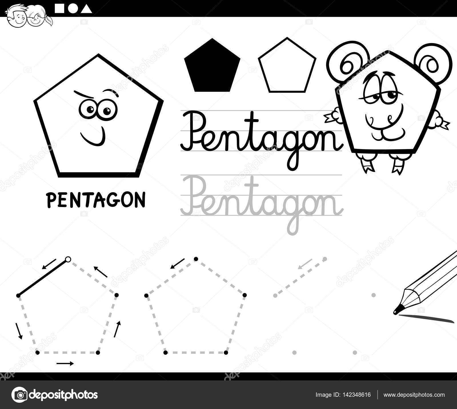 dibujos animados de figuras geométricas básicas — Vector de stock ...
