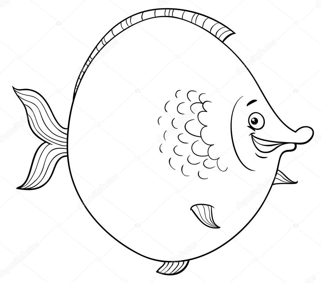 Schön Süße Fisch Malvorlagen Ideen - Beispiel Business Lebenslauf ...