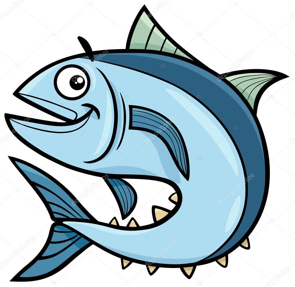 سمكة كرتون Gif