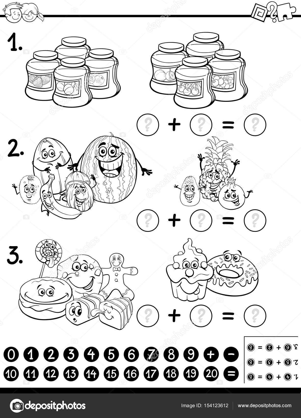 pädagogische Tätigkeit Malvorlagen — Stockvektor © izakowski #154123612