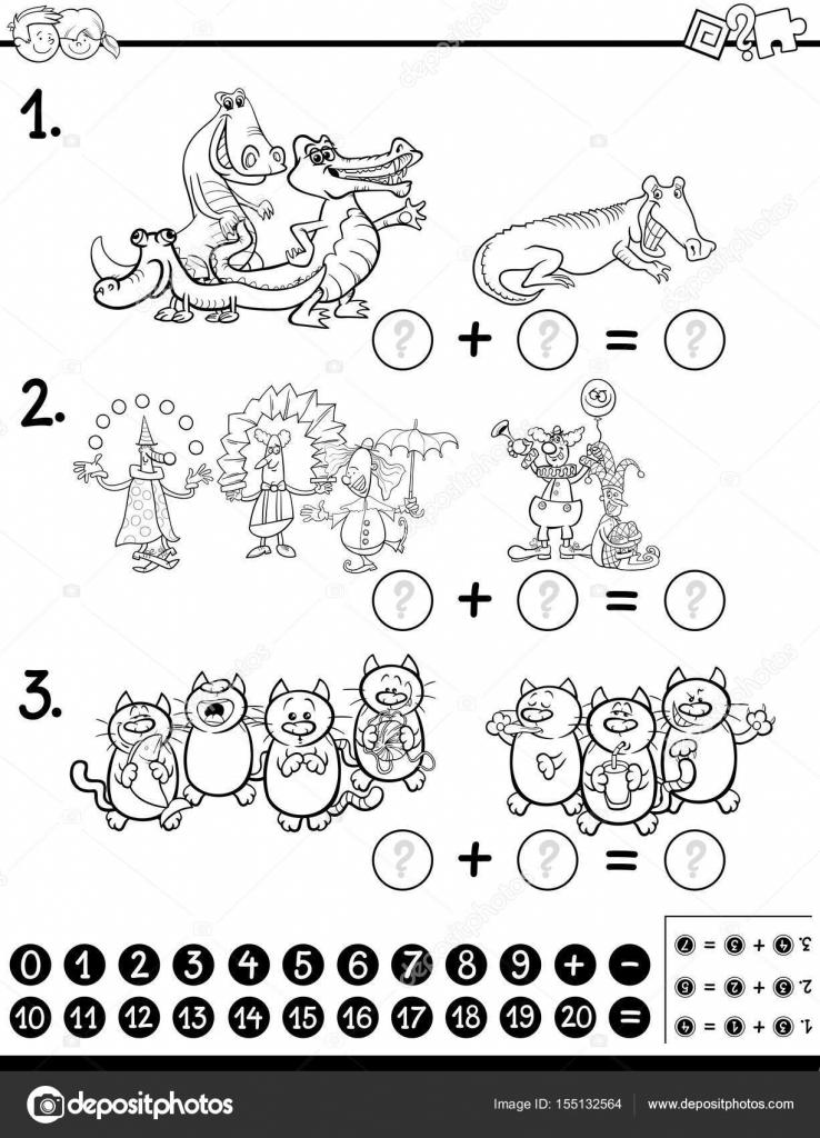 Página para colorear de álgebra actividad — Archivo Imágenes ...
