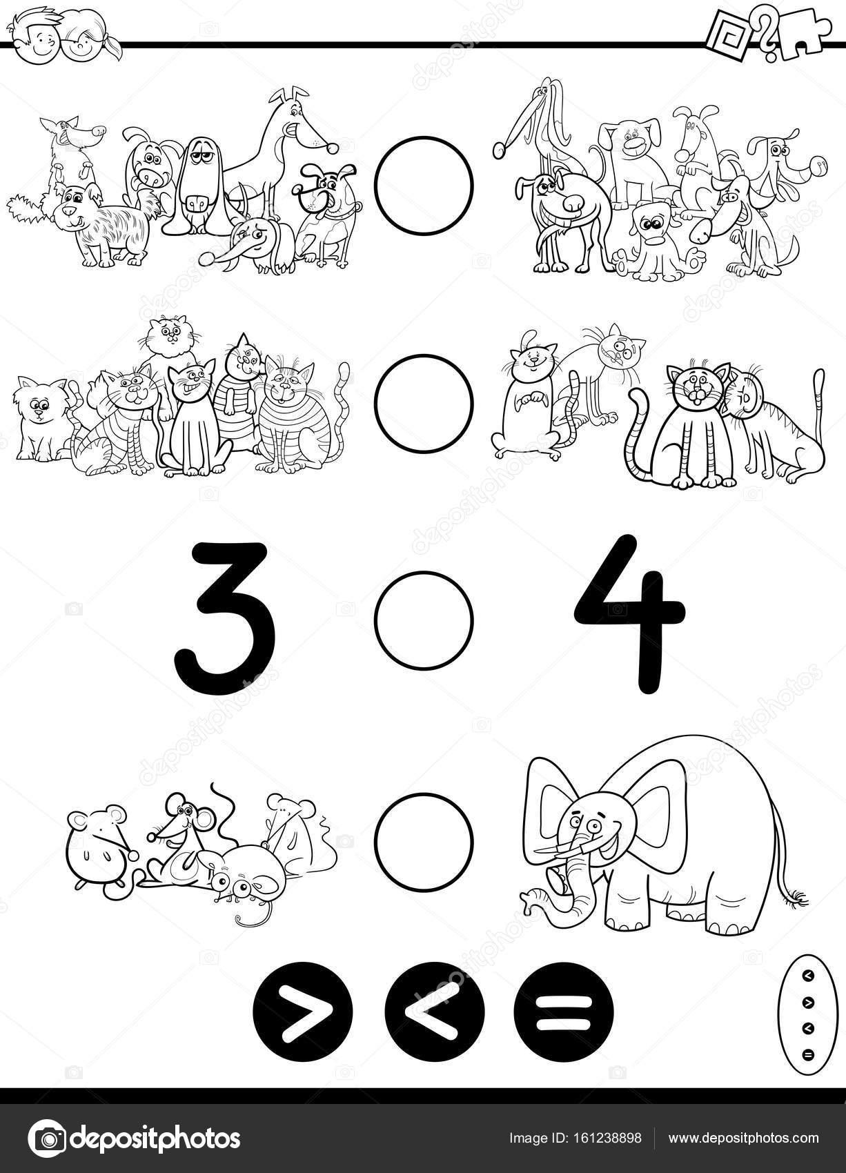 Imágenes: numero 3 para colorear   dibujos animados menor o igual ...