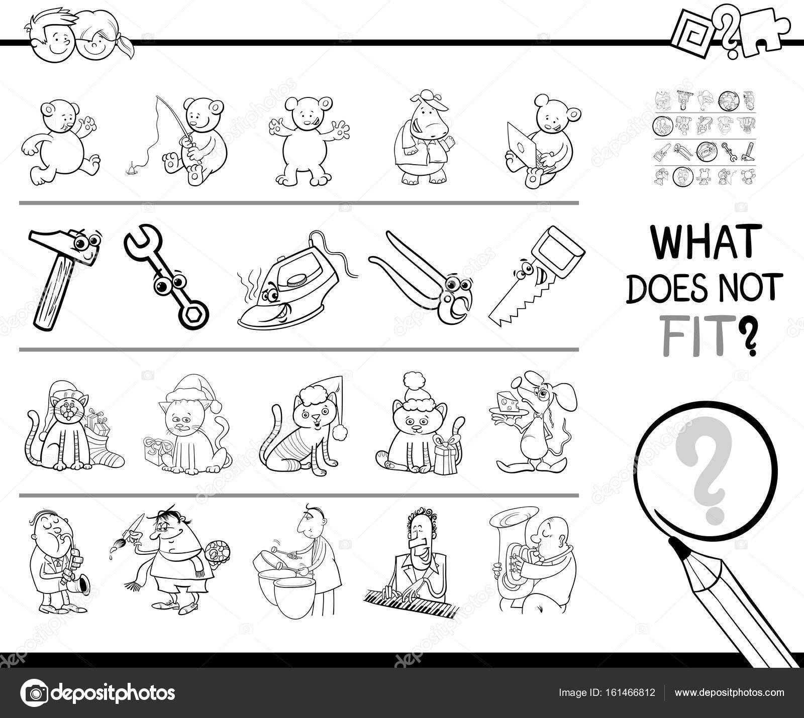 mal imagen en línea para colorear juego — Archivo Imágenes ...
