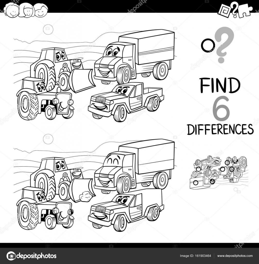 Fotos Para Dibugar Punto La Diferencia Con Los Coches
