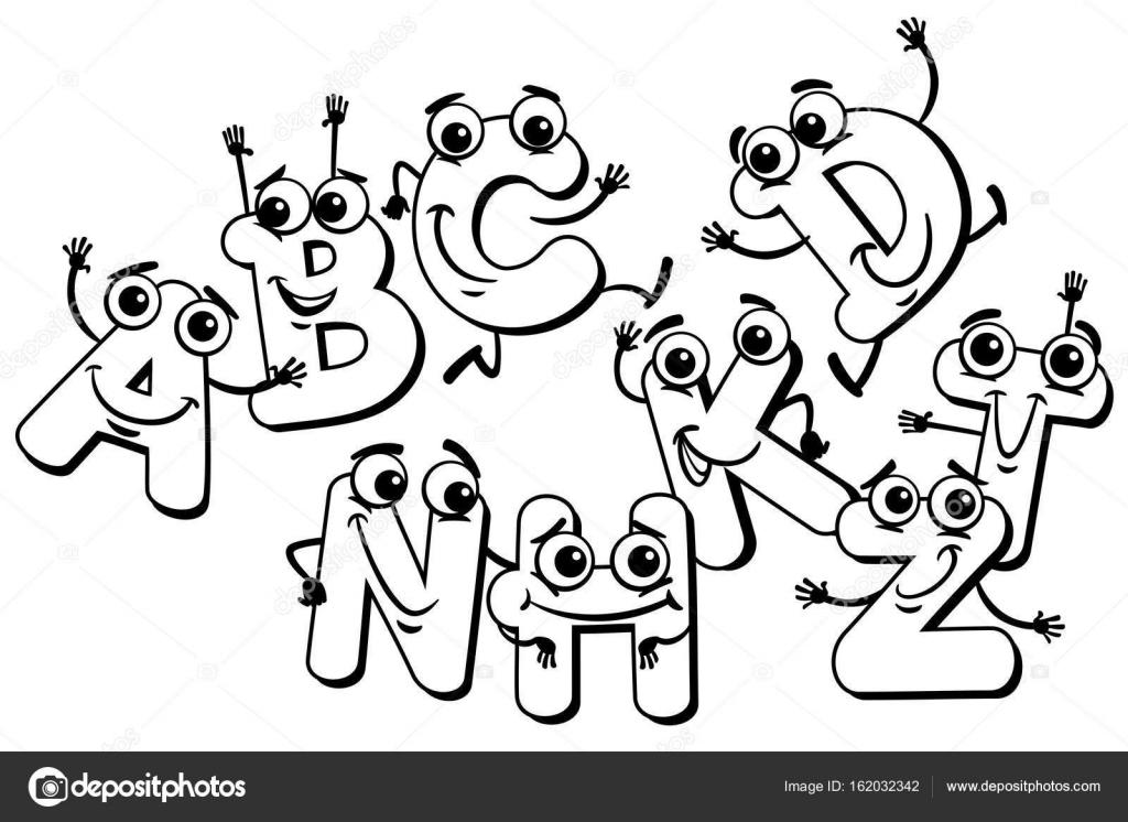 Dibujos: capital social | caracteres de letra de dibujos animados ...