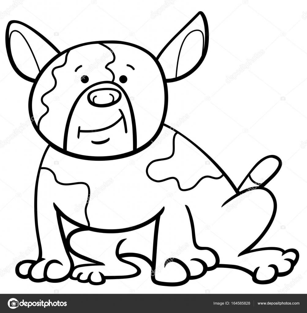 Dibujos Perritos Para Colorear Perro De Dibujos Animados Para
