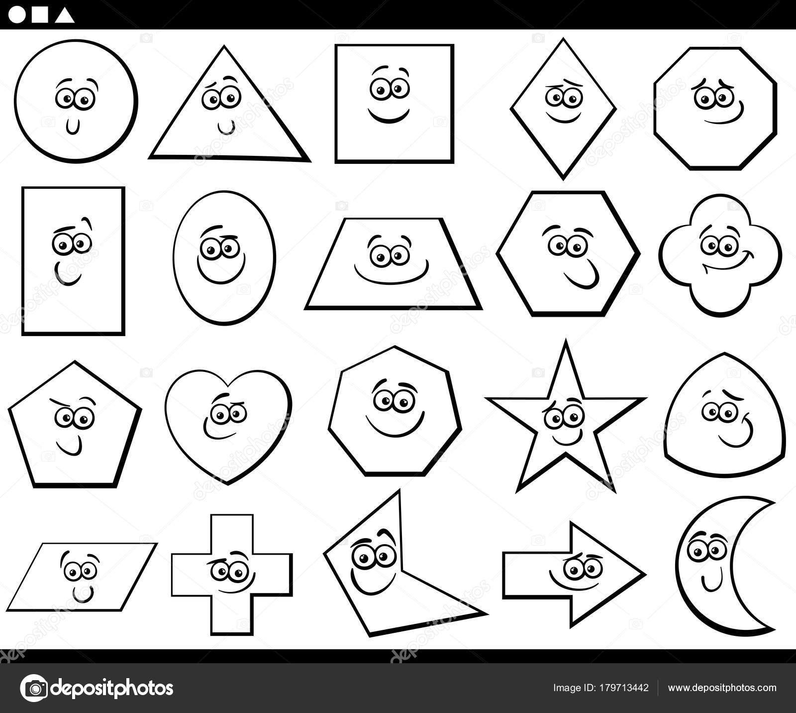 Imágenes: Figuras Geometricas Blanco Y Negro