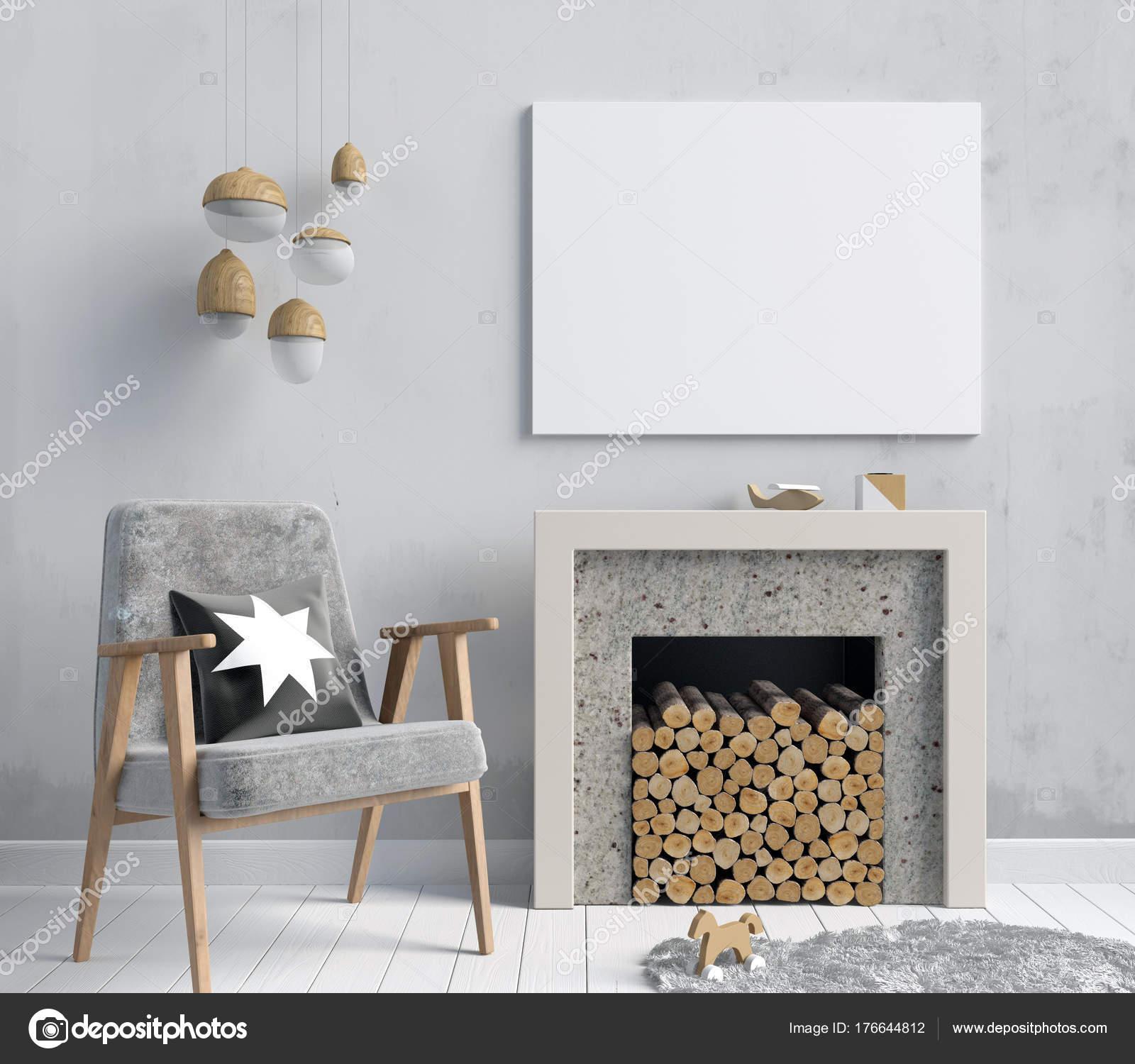 Interni moderni con un caminetto decorativo stile for Interni moderni foto