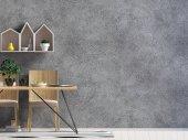 Deridere sul muro interno con zona pranzo. soggiorno moderno st