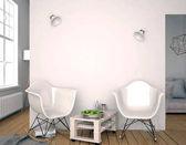 Moderní interiér s plastovou židli. Zeď mock-up. 3D illustratio