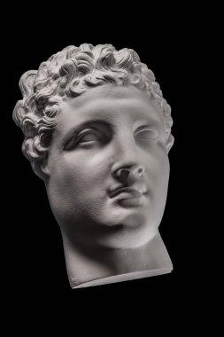 plaster face, sculpture, mask, face a Greek