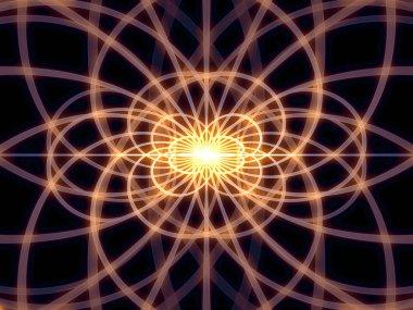 Intricate Grid Lines