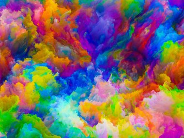 Evolving Colors background
