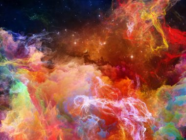Magnificent Space Nebula