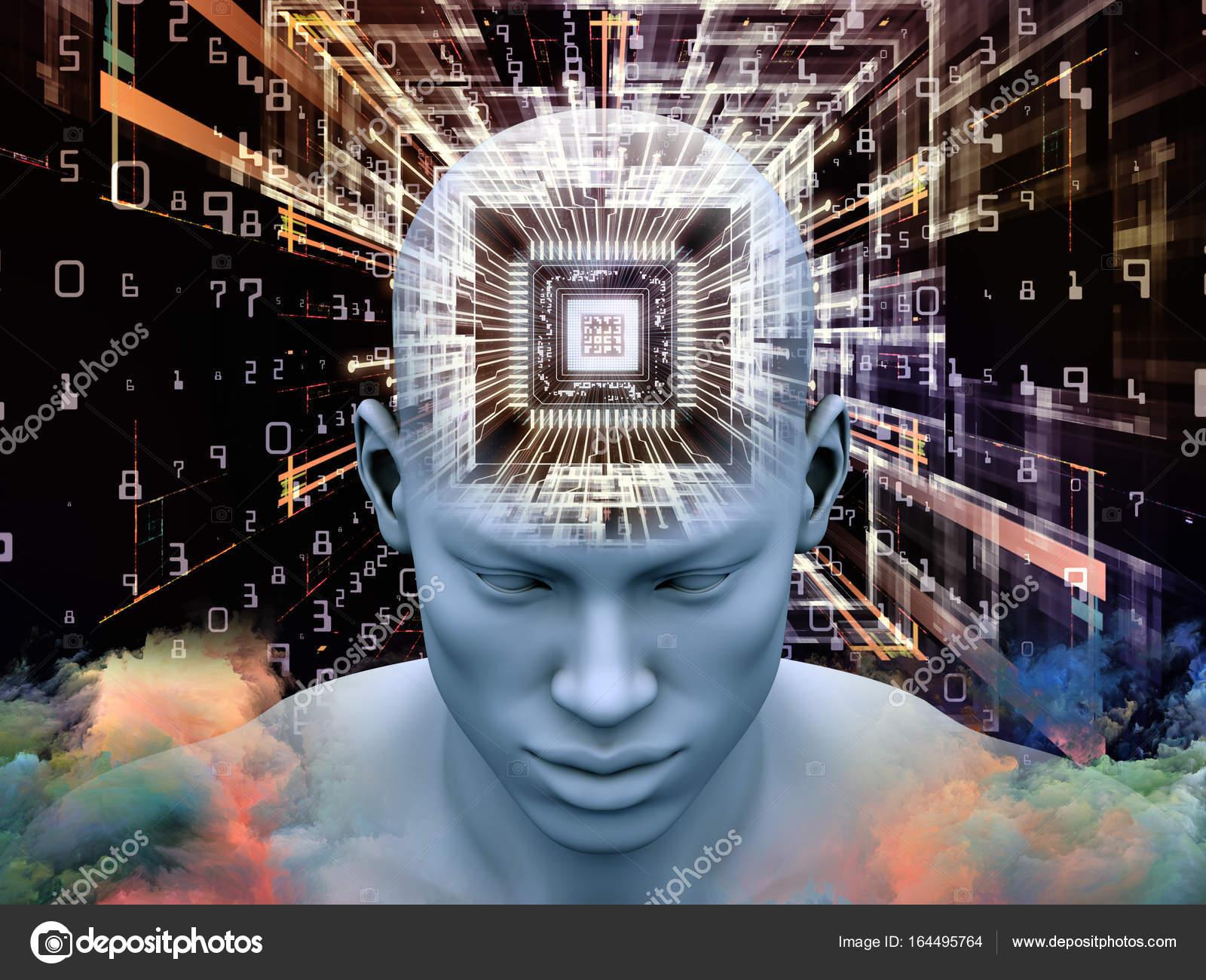 Смотреть Иллюстрация соскоростью мысли видео