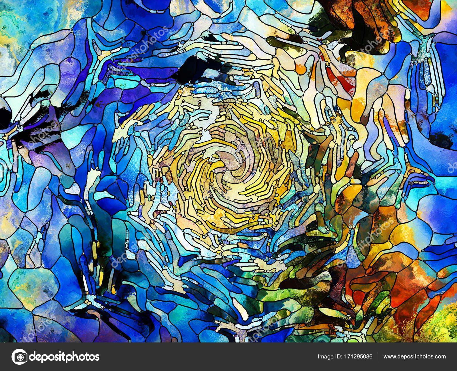 Evolving Color Division — Stock Photo © agsandrew #171295086