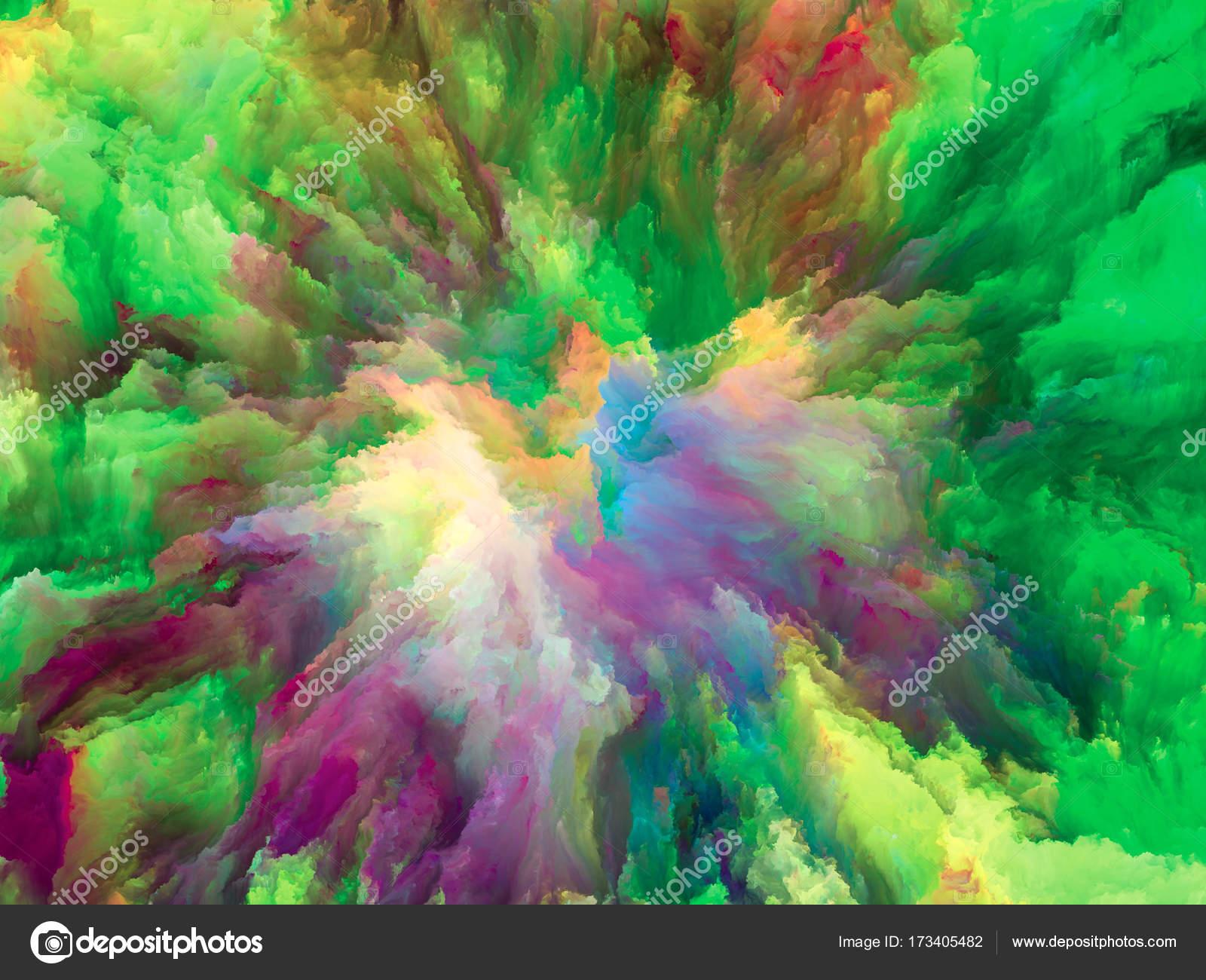 exploding surreal paint stock photo agsandrew 173405482