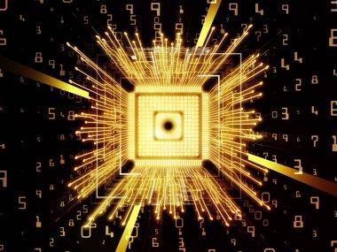 Virtual Life of Computer CPU