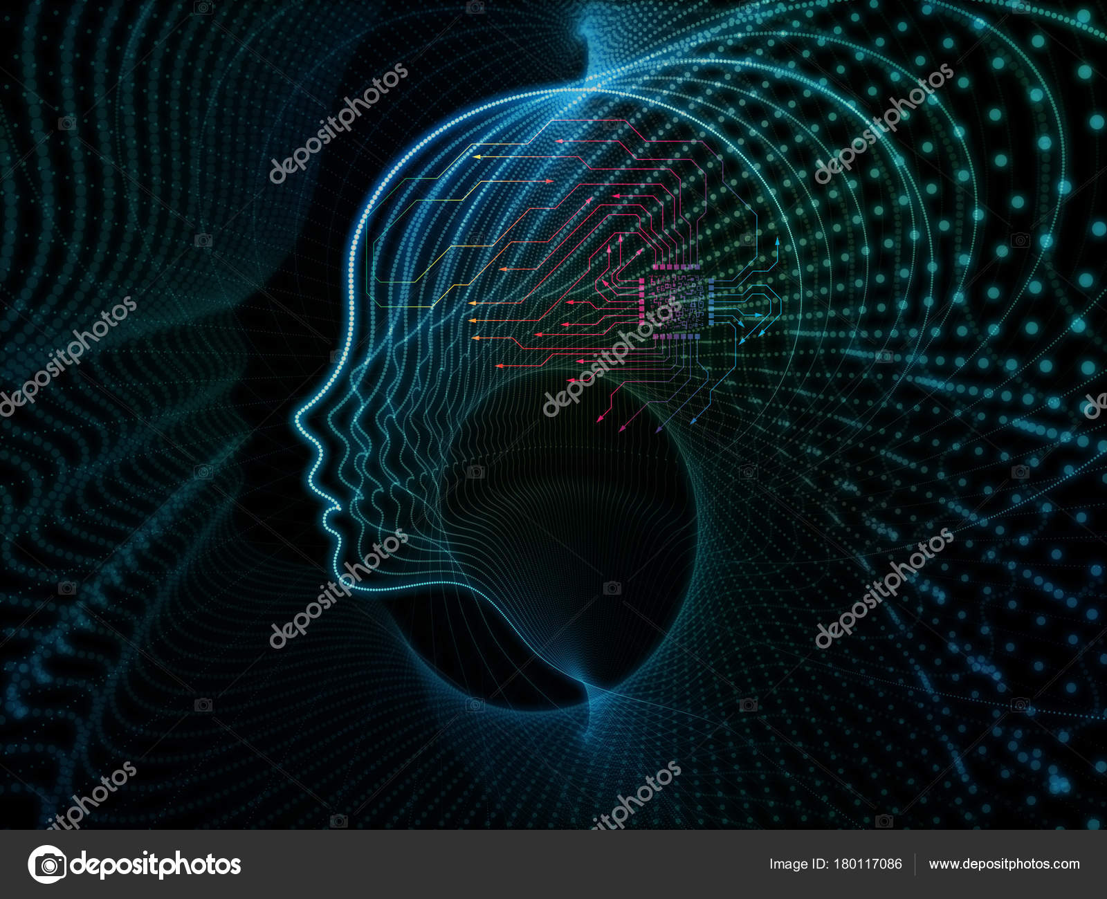 Realms of Machine Consciousness — Stock Photo © agsandrew