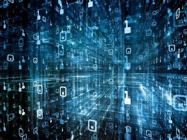 Energy of Digital Space