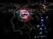 Fotografie Machine Consciousness Background