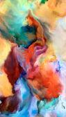 Fotografie Malování tapety fraktální