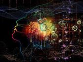 Fotografia Luci della coscienza di macchina