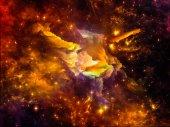 Fotografie Virtual Interstellar Clouds