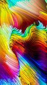 Virtuální tekuté barvy
