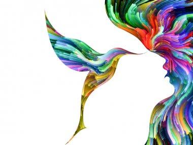 Unfolding of Creativity