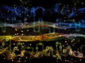 Fotografie Weg des Datenflusses