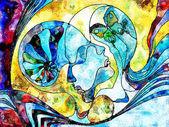 Photo Color Division Composition