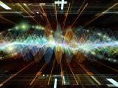 Fotografia Lelaborazione di oscillazione