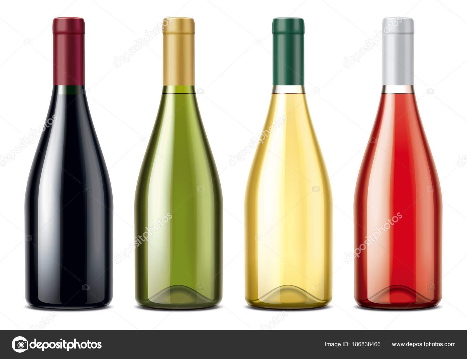 Conjunto Maquetas Botellas Vino
