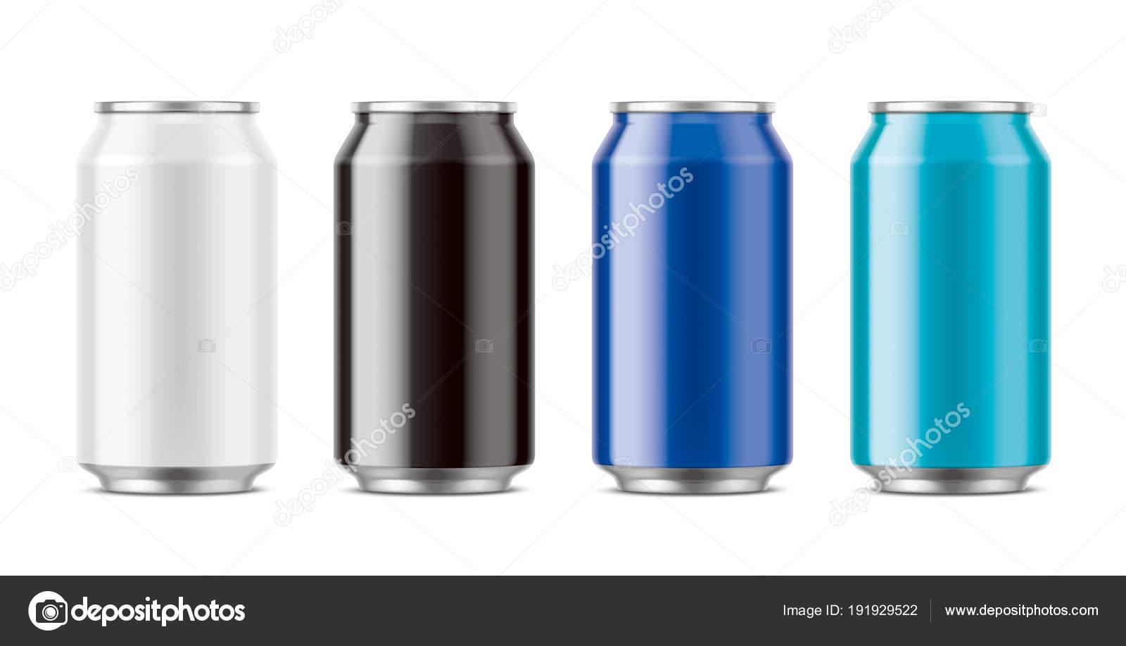 Aluminium Dosen Für Getränke — Stockfoto © eugeniy #191929522