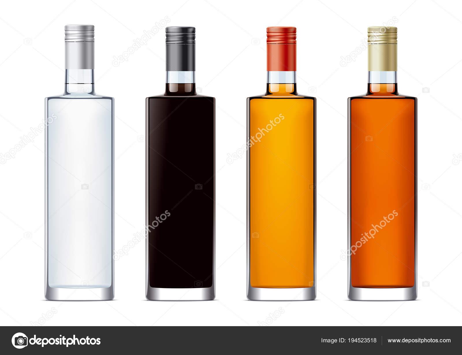Leere Flaschen Für Alkoholische Getränke — Stockfoto © eugeniy ...