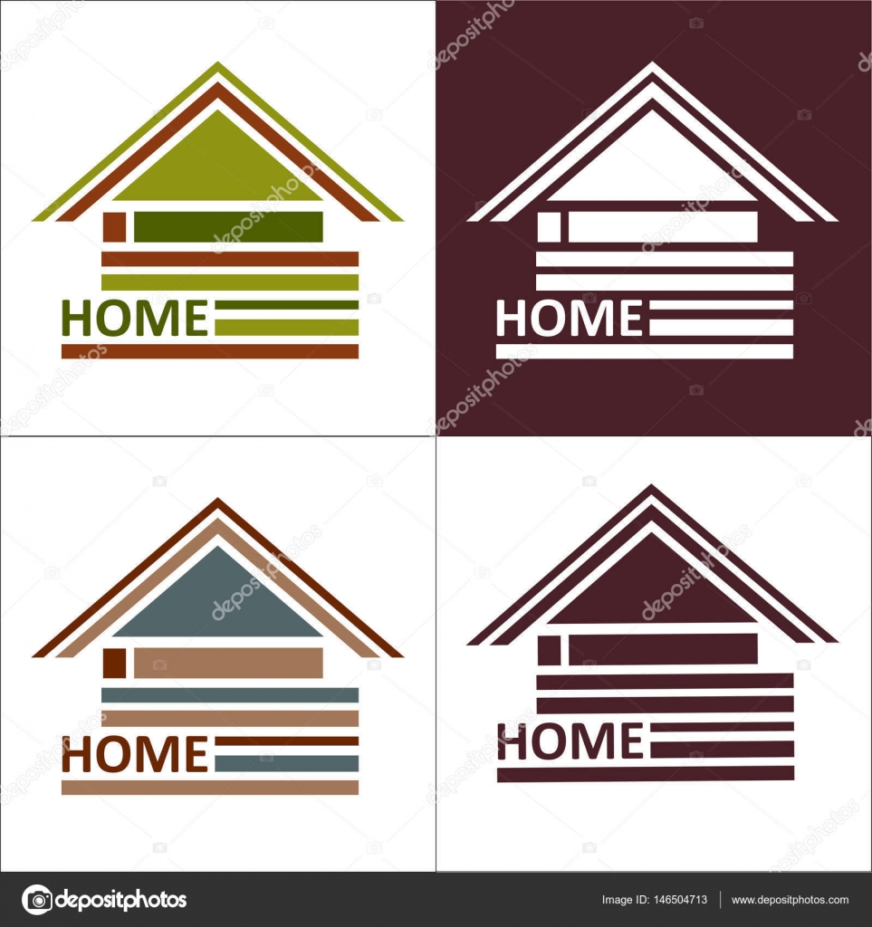 Real estate symbols roofs of houses and buildings such a logo real estate symbols roofs of houses and buildings such a logo stock vector biocorpaavc Image collections