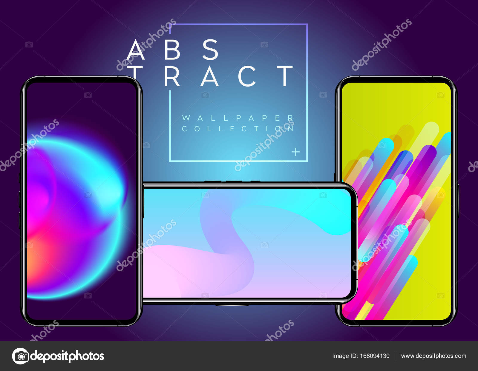 Phone Abstract Futuristic Wallpaper Collection Creative