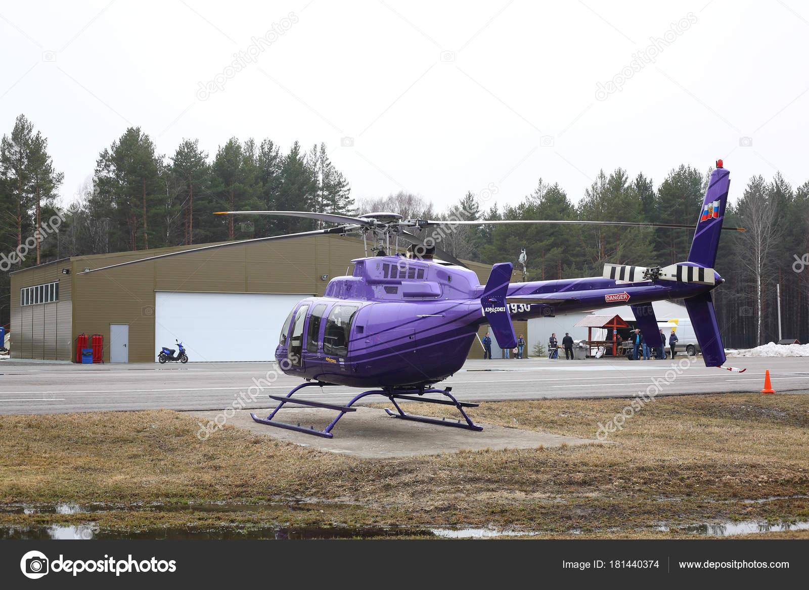 Elicottero Jet Ranger : Aerei viola elicottero bell u foto editoriale stock photoworld
