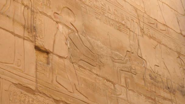 Large Carved Image of The Pharaoh Amun-Ra